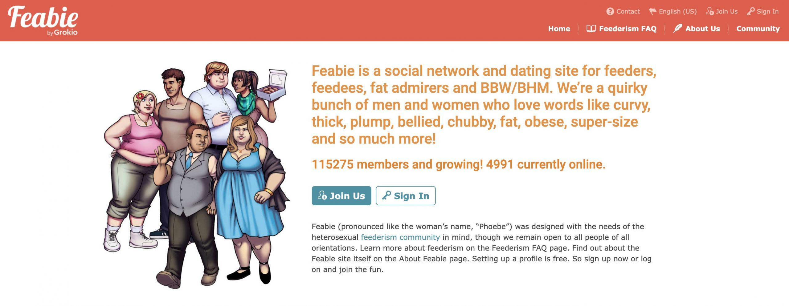 Feabie main page