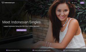 IndonesianCupid main page