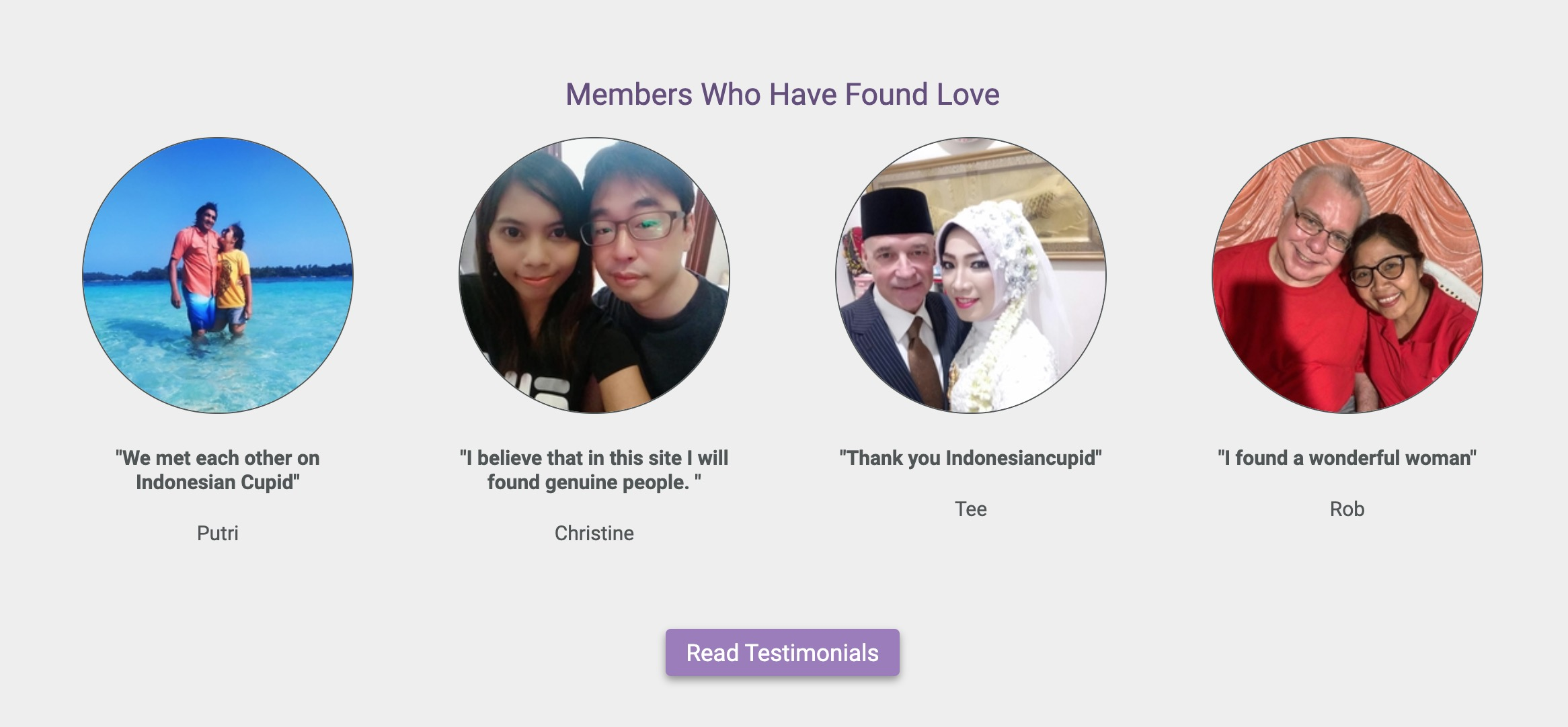 IndonesianCupid success story