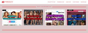 LoveRoulette main page