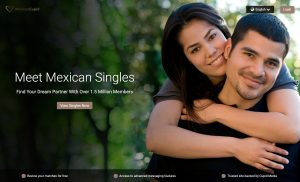 MexicanCupid main page