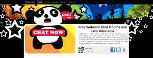 OmgChat main page