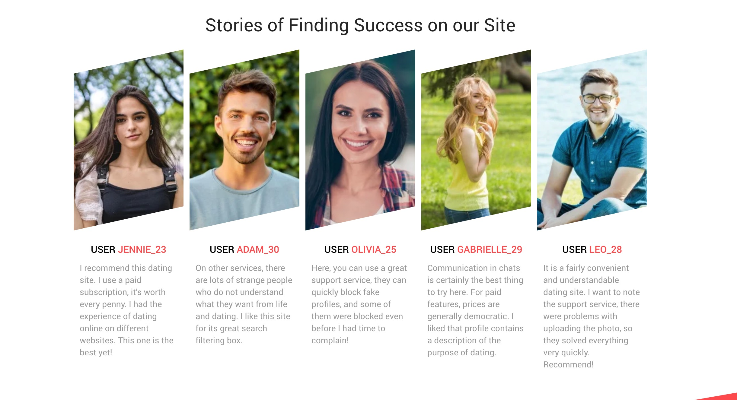 QuickFlirt success stories